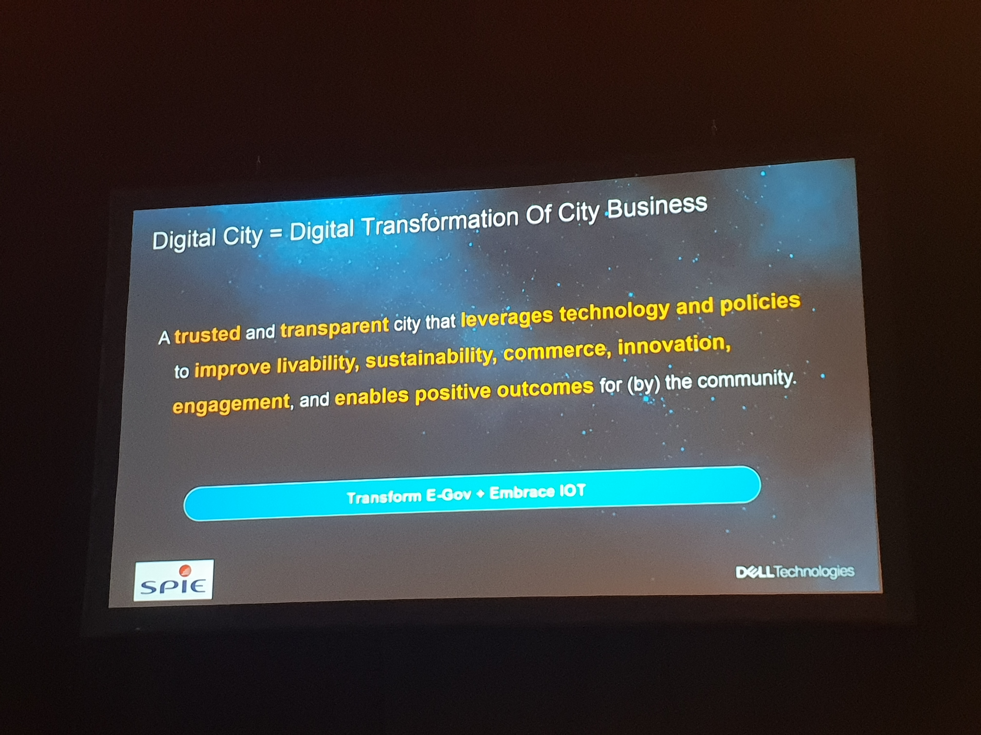 Digital Cities - What is a Digital City